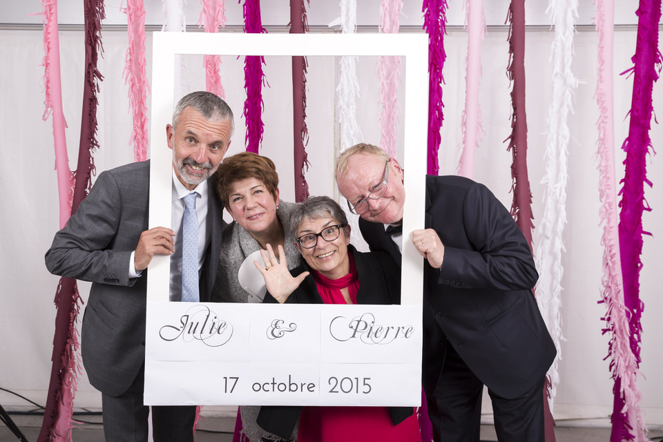 Mariage Julie & Pierre • Photo Booth