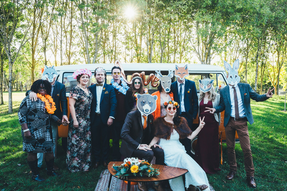 Mariage Automne - Groupe Masques