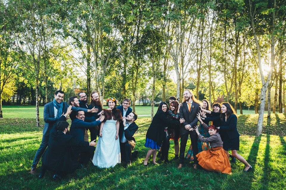 Mariage Automne - Groupe