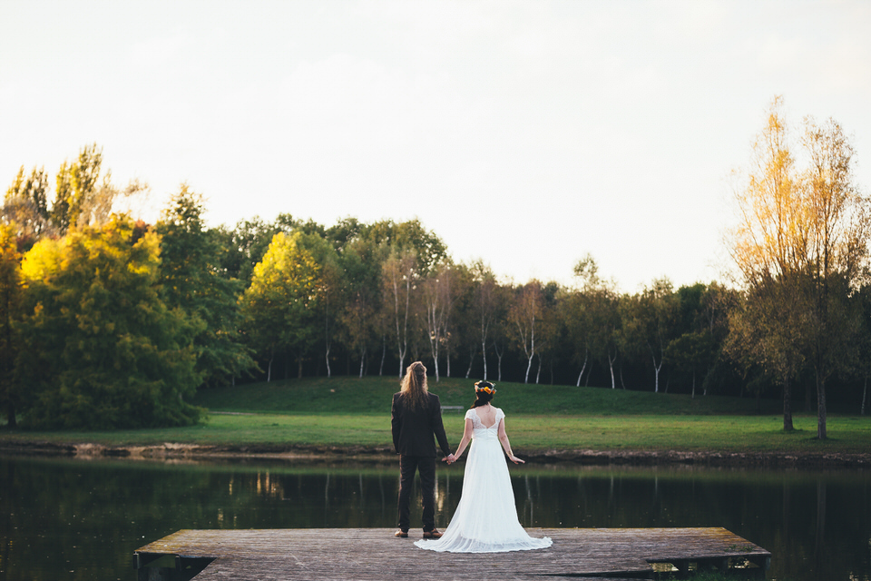 Mariage Automne - Lac
