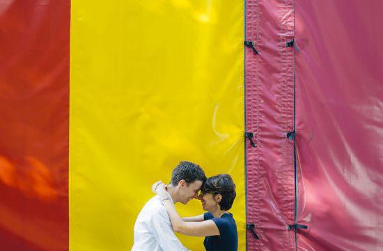 Séance Engagement à Nantes / Julie & Pierre