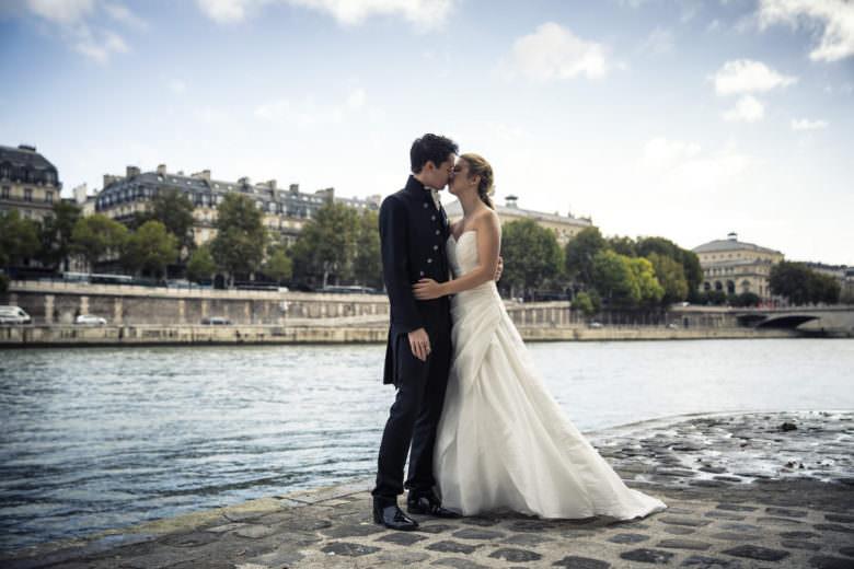 Baiser Mariés Paris