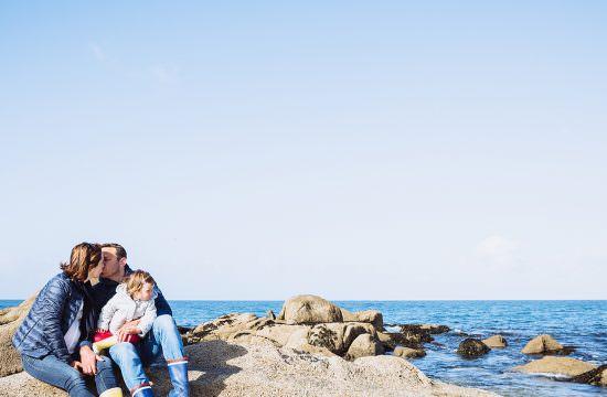 Une séance famille sur la plage à Trégunc