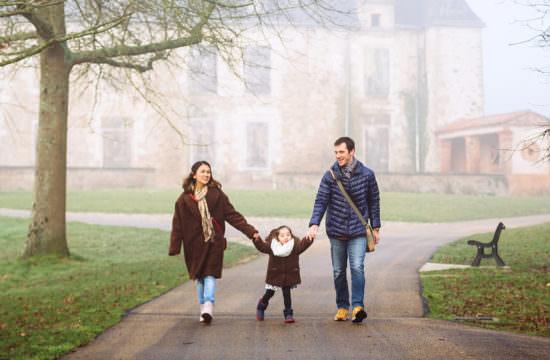 Séance Famille dans la Brume / Nantes